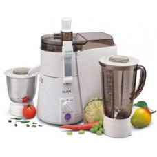 Sujata Powermatic Plus 900 W Juicer Mixer Grinder  (White, 2 Jars)