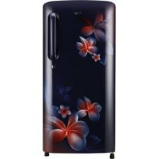 LG 190 L Direct Cool Single Door 3 Star Refrigerator  (Blue Plumeria, GL-B201ABPD)