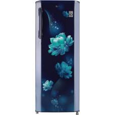 LG 270 L Direct Cool Single Door 3 Star Refrigerator  (Blue Charm, GL-B281BBCX)