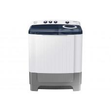 Samsung 8.0 Kg Semi-Automatic 5 Star Top Loading Washing Machine (WT80R4200LG/TL, Light Grey, Royal Blue Lid (Transparent)