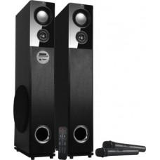 ZEBRONICS ZEB-BT9500RUCF 100 W Bluetooth Tower Speaker  (Black, 2.0 Channel)