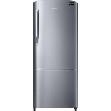 SAMSUNG 230 L Direct Cool Single Door 3 Star Refrigerator  (Elegant Inox, RR24A272YS8/NL)